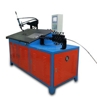 Fully-automatic 2d CNC wire bending machine automatic rebar cutting and bending machine best price cnc wire bending machine