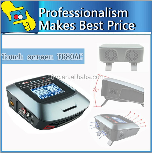 2015New 90w high power lcd touch intelligent lithium battery balancing charger with EU plug high imax b6 b6ac