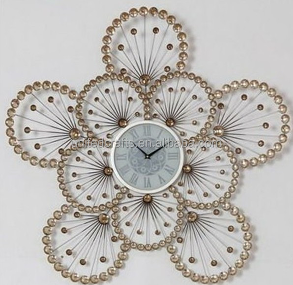 Different art craft hot sale home decoration cheap diy for Arts and crafts clocks for sale