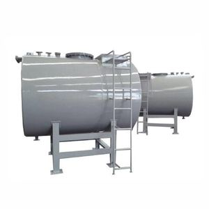 Steel-lined plastic storage tank/ Chemical storage tank