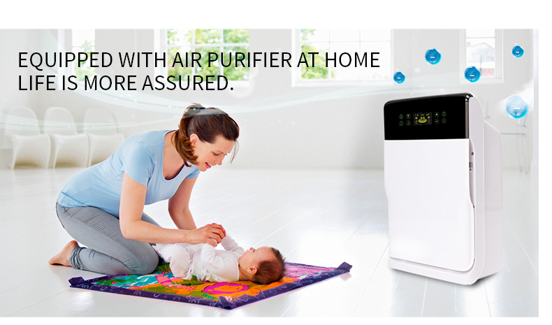 Olansi Smart Home Air Purifier 2 Air Conditioning Home Appliances Purifying