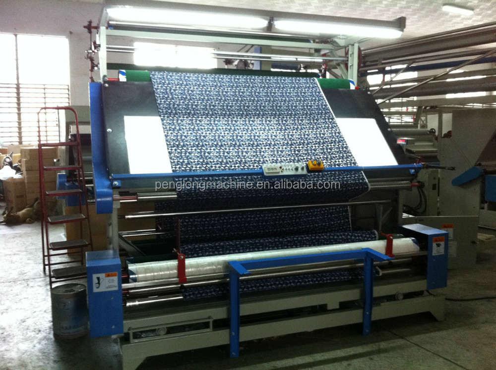 China manufacturer Auto Fabric Inspection Machine with cutting
