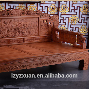 China Cheap Antique Solid Rosewood Bedroom Furniture Set For Sale