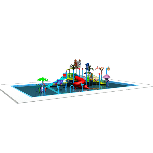 kids play wading  pool urban design swimming pool play set