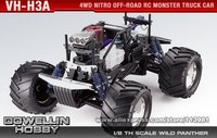 1/8 28CC Kyosho Giga Crusher SF 4WD Nitro Off-Road RC Monster Truck Car KIT /VH-H3A