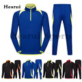 Autumn Winter New High Quality Football Training Suit Set Men kids Long Sleeve Soccer Tracksuit Outdoor