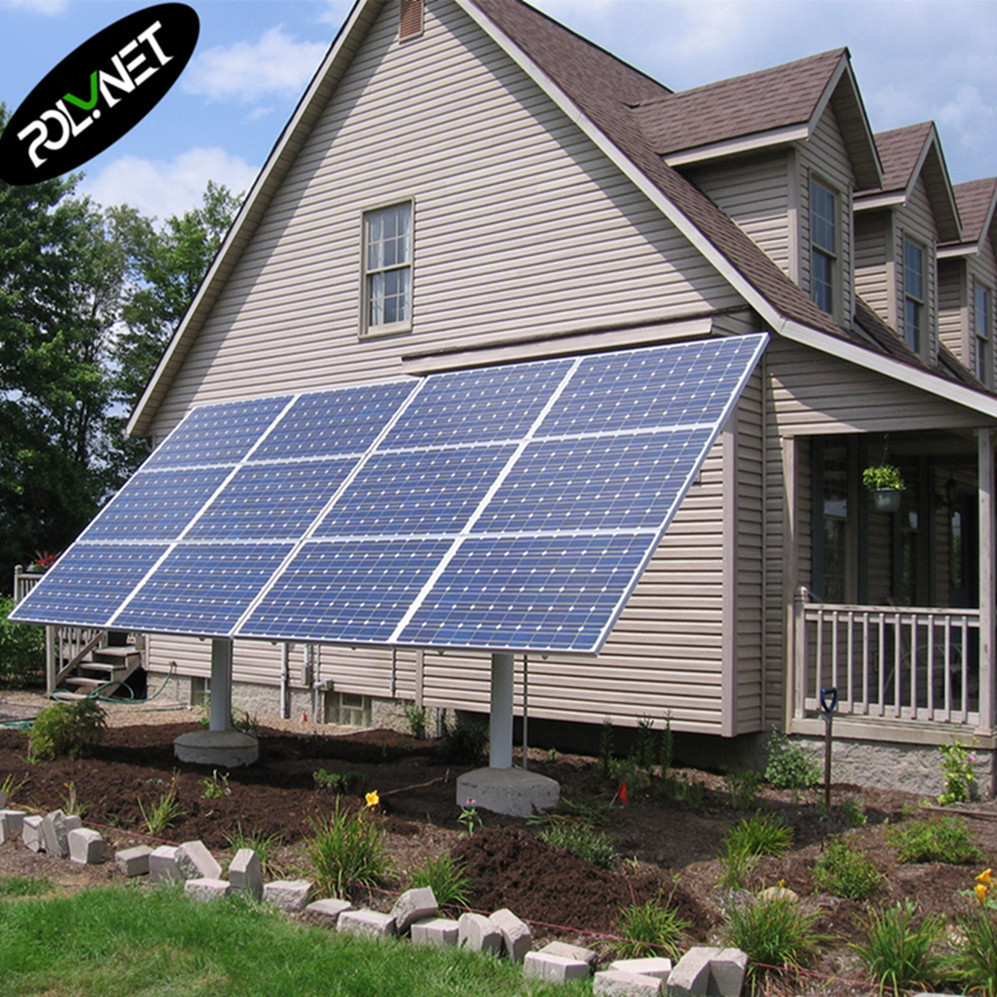 10kw hybrid cost of home solar power system bipv completed kits from POLYNET