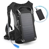 Portable outdoor travelling camping solar power charger bag solar charger camel backpack hydration