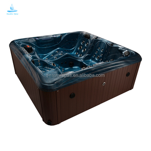 Outdoor New Design Seastar Spas Whirlpool Heating Acrylic Balboa Massage Spa