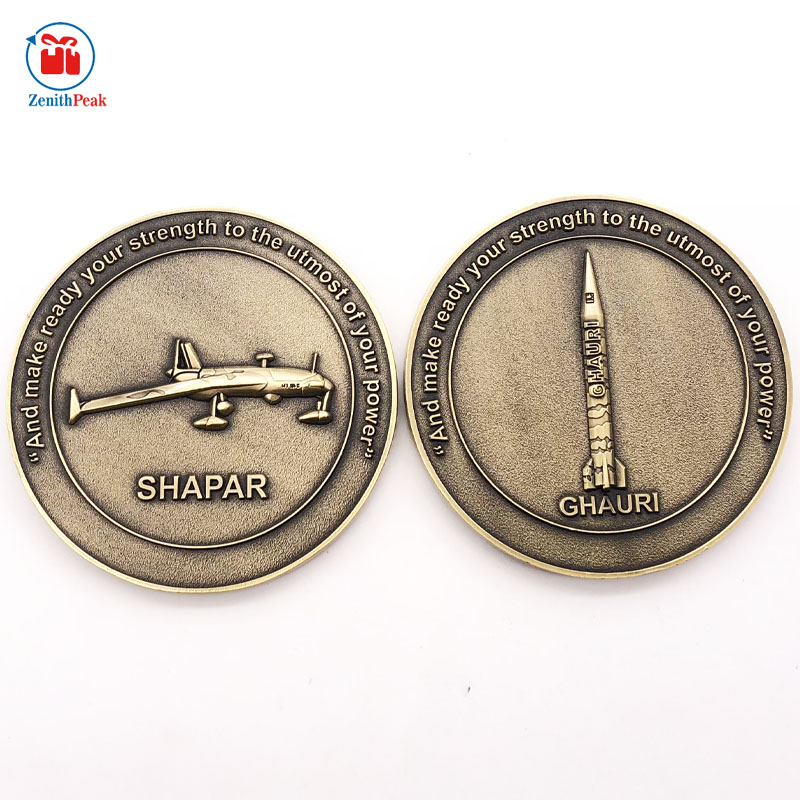 China Manufacturer Customized PAKISTAN Military Old Coins