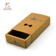 Kraft Bow Tie Gift Packaging Paper Box with Drawer
