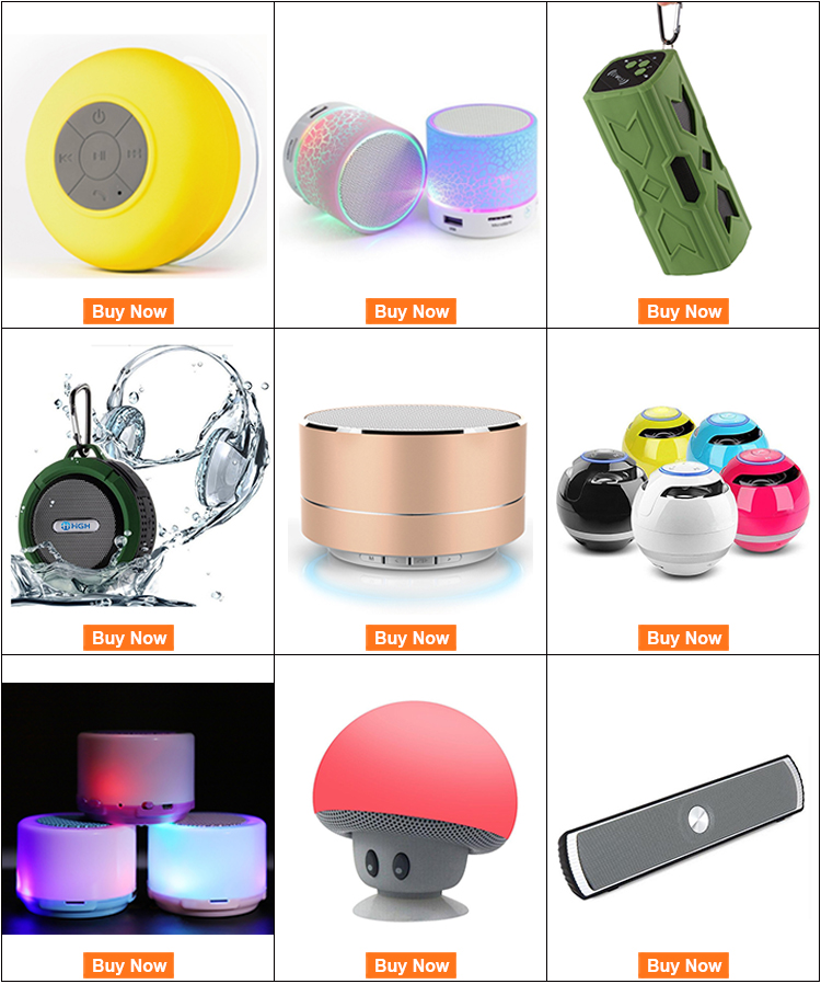 Travel speaker Christmas gifts wireless mushroom usb portable speaker