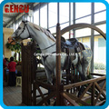 Chidren Playground High Quality Fiberglass Horse Ride