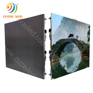 Factory Price Indoor Flexible P5 LED Panel/LED Display Die Casting Aluminum Warranty 2 Years LED Advertising Screen