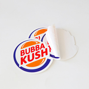 UV Protection Waterproof Die Cut Vinyl Company Logo Custom Sticker