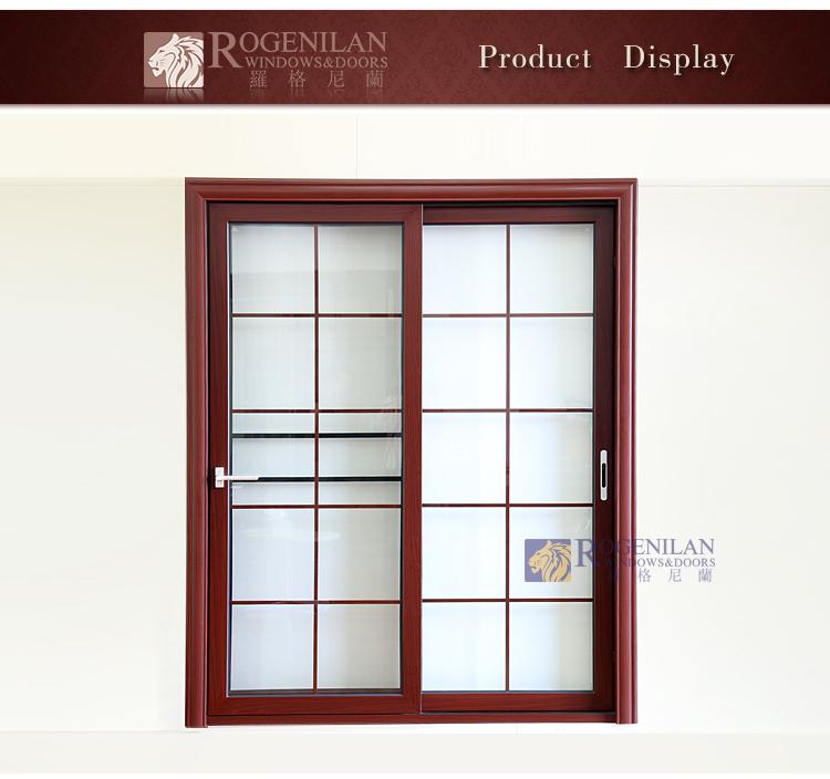 Rogenilan 80# Modern Grill Designs Sliding Aluminum Frame Glass Rolling  Door With Roller For Sliding Door   Buy Roller For Sliding Door,Sliding  Door ...
