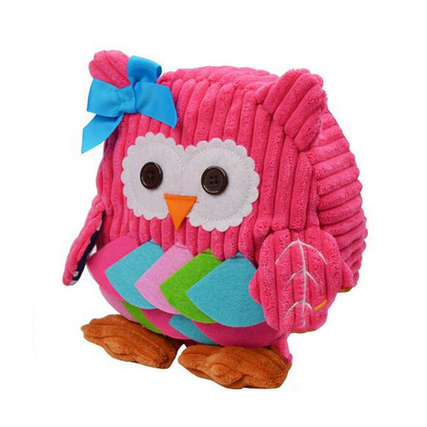 dc5dc4597110 Get Quotations · Kids Backpack Zoo 3D Cute Zoo Owl Cartoon School Toddler  Sidesick Boys Girls Bags