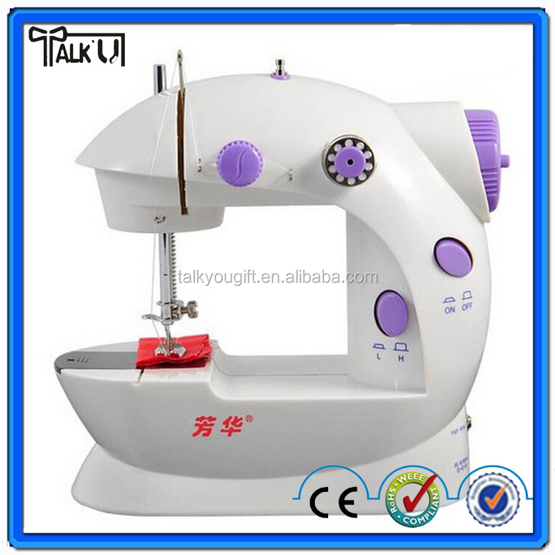 Hot sell portable design handy stitch automatic mini household sewing machine