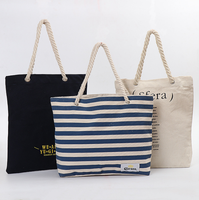 Tote cotton shopping bag printed fashion 100% cotton canvas tote bags