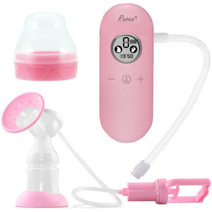 New arrival hot sale 2 in 1 electric manual breast pump with dual pumping or unilateral pumping