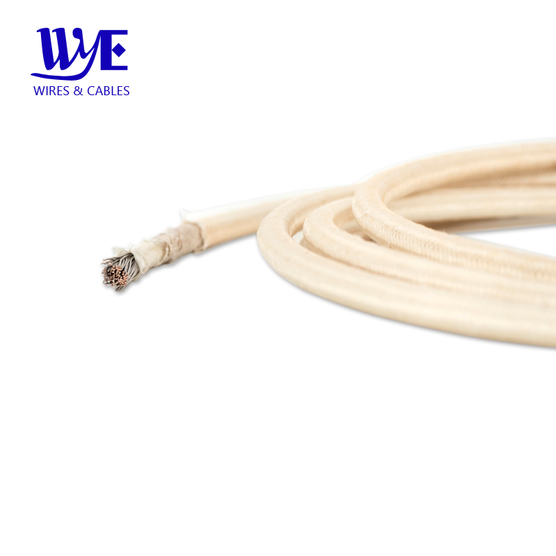 MGT UL5107 Pure Nickel Fiberglass Braid Mica Wrapped High Temperature Cable