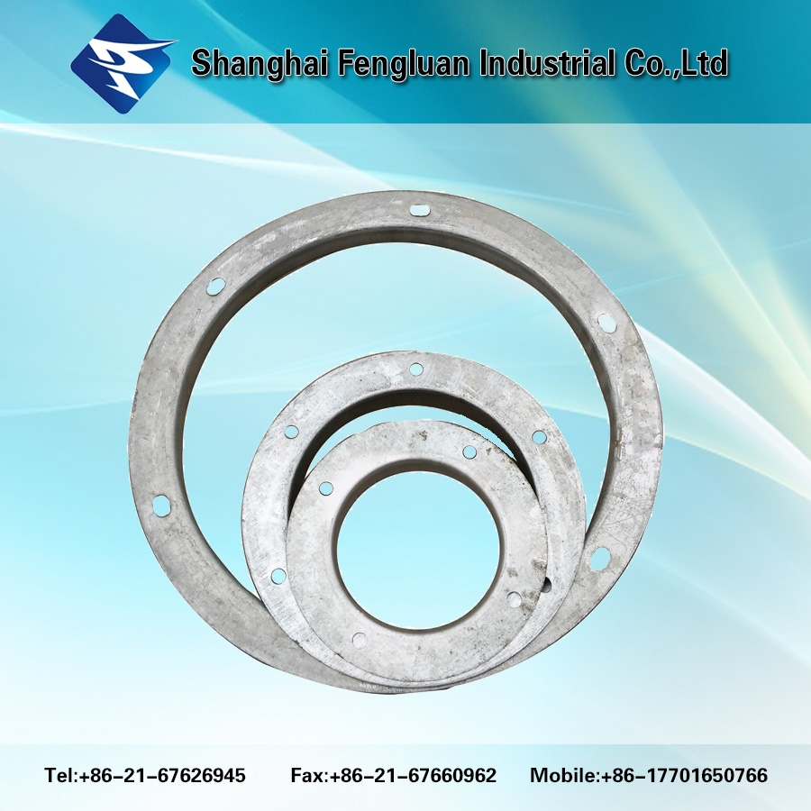 Galvanized Angle Iron Round Flange For Duct For Ventilation - Buy Round  Flange For Duct,Angle Ring Flange,Galvanized Pipe Flange Product on