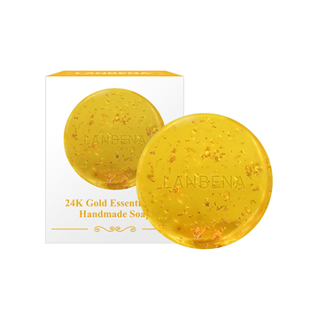 LANBENA 24k gold natural handmade organic soap free shipping