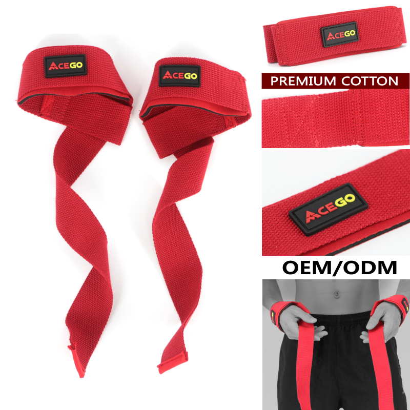 Buy 300 get more 20 Iron Cushion Elastic Weight Lifting Gym Wrist Straps