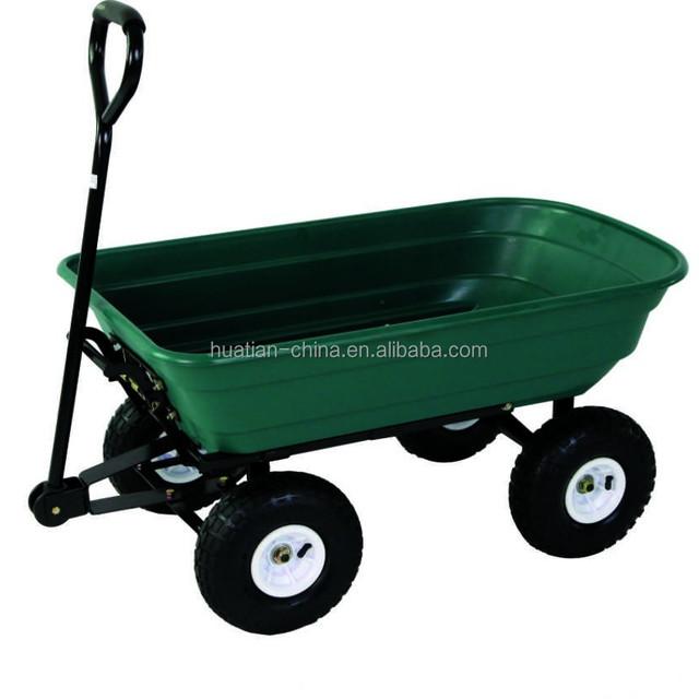 Plastic Garden Cart Tipper Dump Truck,Poly Garden Dump Cart TC4253,handy Garden  Wagon