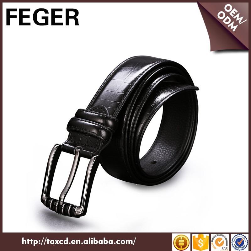 2016 new fashion trend reversible leather belt for man