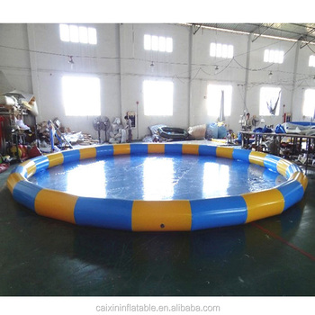 Commercial Giant Water Pool Bubble Ball Pit Pool Inflatable Swimming ...