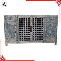factory of Antique Chinese Wooden Kitchen Cabinet