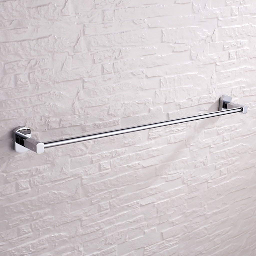 EQEQ Bath Room Towel Rack Towel Rack Bath Rooms Trailer Hardware Bathroom Copper Towel Rack Towel Rail Towel Toilet Single Rod Rack Storage Rack