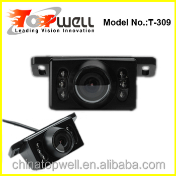 best sale hidden trailer pc 7070 cmos car rear view back up camera with 4 pin or rca connector