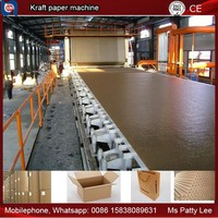 Wood chips pulp recycling line and lignin collect making line, recycling kraft paper machine, 1575mm width