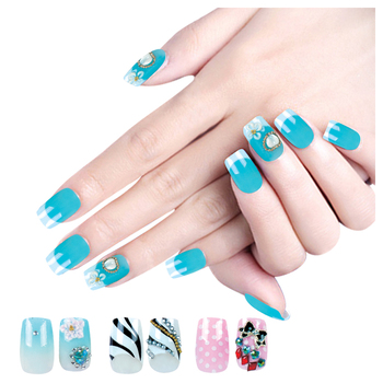 Fengshangmei Nails Tip Water Professional Nail Art Design Tips Artificial Color