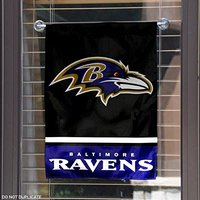 custom Baltimore Ravens 28x40 Satin Polyester Wall Banner Flag