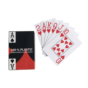Promotional Customized Size Souvenir 100% Pvc Plastic Printed Paper Nude Card Custom Games 3d Printing Playing Cards