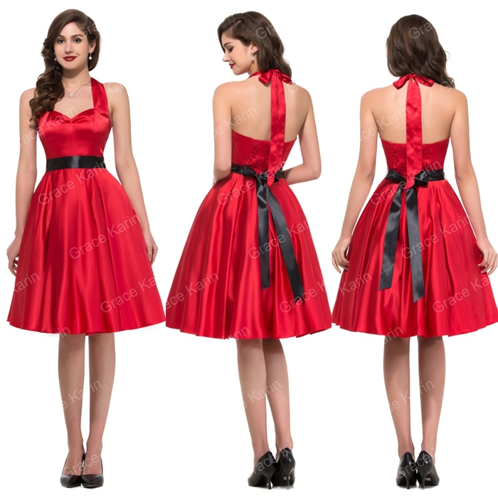 Cheap Red 50s Dress Find Red 50s Dress Deals On Line At Alibaba