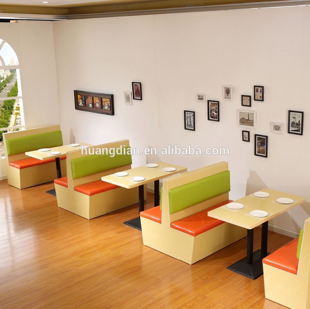 Beau Modern Cafe Furniture Plywood Restaurant Booths Sofa