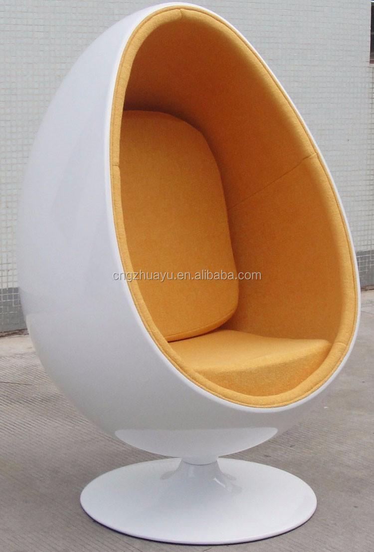 Modern fiberglass egg pod chair buy egg pod chair fiberglass egg chair pod chair product on - Fiberglass egg chair ...