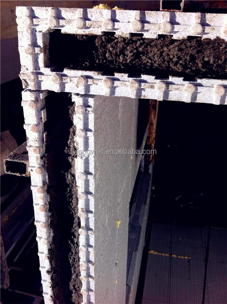 Iran hot sale eps icf foam construction blocks molding for Icf foam