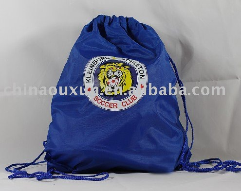 high quality polyester drawstring back pack