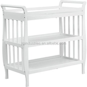Ce Wooden Baby Bath With Stand/ Baby Changing Table En12221