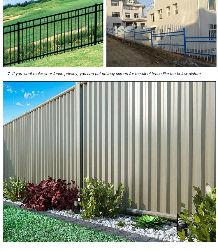 used aluminum fence panelsused fencing for sale tubular aluminium pool fencing