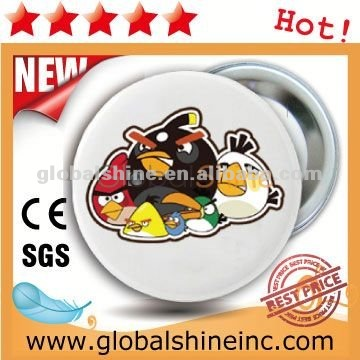 44mm rosette button badge material componets