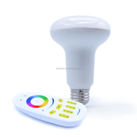 NEW Design par 30 led light bulbs rgbw multi color wifi control smart light bulb CE&RoHs High quality with good price Dimmable