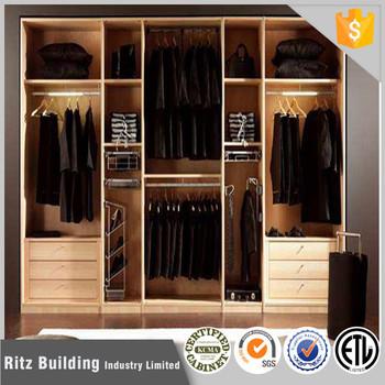 2017 Simple Design Bedroom Wardrobe Design Home Furniture Bedroom Wardrobe  Wood Walk In Wardrobe