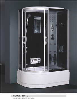 Luxury Cheap Economic Italian Poland Bath Small Tempered Glass Bathroom  Frameless Enclosed Shower Cabin And Price