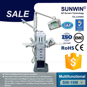 new multifunctional machine 19 IN1 japan beauty equipment for facial for salon